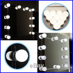 100PCS LED Mirror Light For Makeup Hollywood Mirror Vanity Dimmable Blubs BE