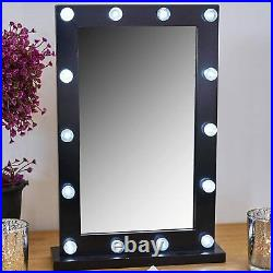 14 LED Hollywood Dressing Table Cosmetic Vanity Mirror Bright Lights Brand New