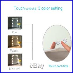 15 Led Bulbs Hollywood Vanity Makeup Mirror with Lights Dressing Table Mirrors