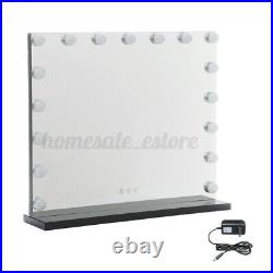 17 LEDs Hollywood Tabletop Makeup Mirror Lights Frameless Cosmetic Vanity Beauty