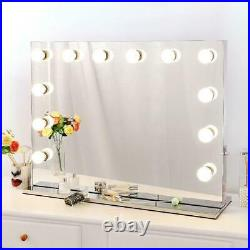 22L Hollywood Makeup Mirror with LED Light Stage Large Beauty Mirror Salon Vanity