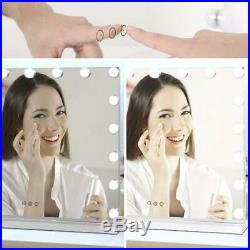23 Hollywood Makeup Vanity Mirror with LED Light Dimmer Cosmetic Beauty Stage