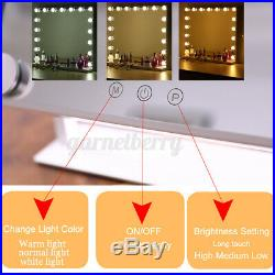 23 Whtie Hollywood Makeup Vanity Mirror LED Light Dimmer Cosmetic Beauty Stage