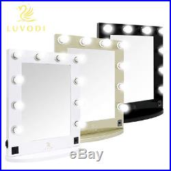 245470mm Mirror Grand Hollywood Makeup Lighted Vanity Table Stage 10 LED Bulbs