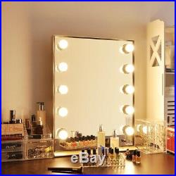 26 Hollywood Makeup Vanity Mirror LED Lighted Aluminum Cosmetic Mirror Dressing