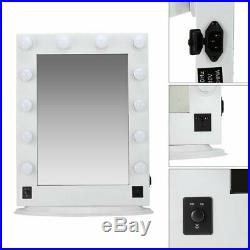 26 Hollywood Makeup Vanity Mirror with Led Light Cosmetic Beauty Stage 12 Bulbs