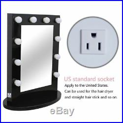 2Colors Hollywood Makeup Vanity Mirror with Light Dimmer Stage Beauty Mirror USB