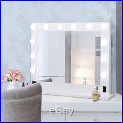 31 Hollywood Makeup Vanity Mirror with Led Light Cosmetic Beauty Stage 12 Bulbs