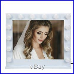 32Hollywood Makeup Vanity MirrorWithLights Stage Large Beauty Dimmer withLED BulbFL