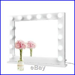 32Makeup Hollywood Vanity Mirror With Lights Stage Large Beauty Dimmer LED BulbUS
