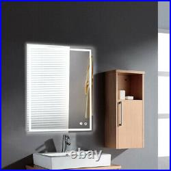 32X24 LED Vanity Makeup Mirror Lights Large Touch Wall Dimmable Lamp Hollywood