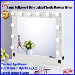 32x26 Chende Hollywood Makeup Vanity Mirror with Light Stage Beauty Mirror BT#