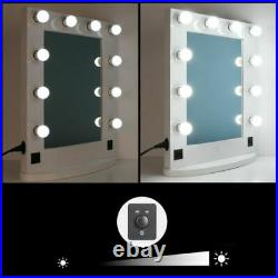 33 X-Large Hollywood Makeup Lighted Vanity Mirror Dimmer Cosmetic Stage Mirror