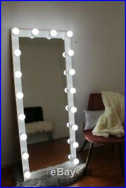 60x24 Full Length Hollywood Style Lighted Vanity Make-up Mirror