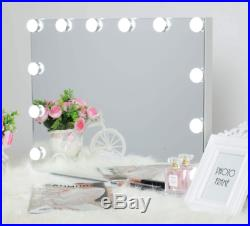 AMST Hollywood Vanity Makeup Mirror with Lights Music Speaker Smart Touchscr