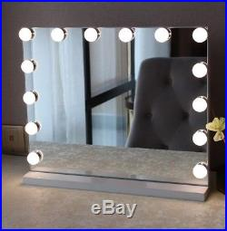 Alluminate XL Dimmable Hollywood Vanity Mirror By Allure Vanity (Non Bluetooth)
