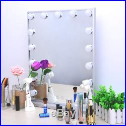 BEAUTME Hollywood Vanity Mirror with Lights, Dimmable Tabletop/Wall Cosmetic