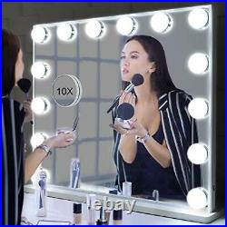 BEAUTME Hollywood Vanity Mirror with Lights, Lighted Makeup Dressing Tabletop