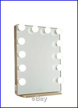 Brand New, In Box-Impressions Hollywood Glow XL 2.0 Vanity Mirror Gold