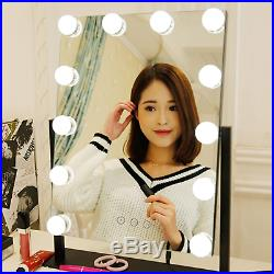 COMMODA Hollywood Style Lighted Vanity Makeup Mirror Dimmable LED Bulbs Smart