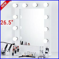 Chende 26 Hollywood Makeup Vanity Mirror with Light Aluminum Stage Beauty Mirror