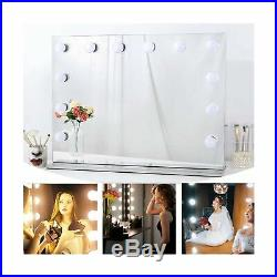Chende Hollywood Light, Makeup Dressing Table Set Mirrors with Dimmer, Tablet