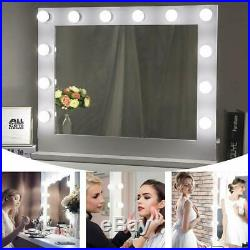 Chende Hollywood Lighted Makeup Vanity Mirror Light 14 LED Light Bulbs Included