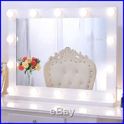 Chende Hollywood Makeup Mirror Lighted Vanity Mirror with 14 LED Dimmable Bulbs