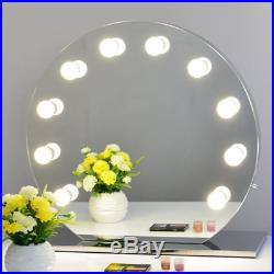 Chende Hollywood Makeup Vanity Mirror with Light Tabletops Lighted Mirror with