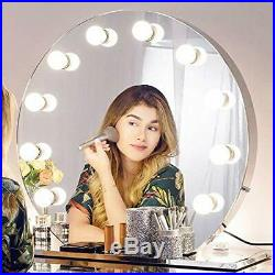 Chende Hollywood Mirror with Lights Lighted Vanity Mirror for Wall Makeup Tab