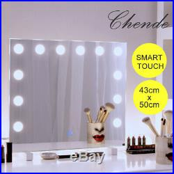 Chende Vanity Mirror Hollywood Makeup Mirror Dimmable Tabletop or Wall-mount