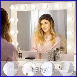 Chende Vanity Mirror with Light Hollywood Makeup Wall Mounted Lighted