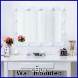 Chende Vanity Mirror with Lights Hollywood Makeup Lighted Mirror Dressing Room