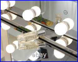 Chende Vanity Mirror with Lights Hollywood Makeup Mirror Tabletop or Wall Mount