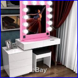 Chende Vanity Mirror with Lights for Dressing Table Hollywood Makeup Mirror VP