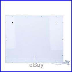 Chende White Hollywood Makeup Vanity Mirror with Light Stage Large Beauty-Mirror