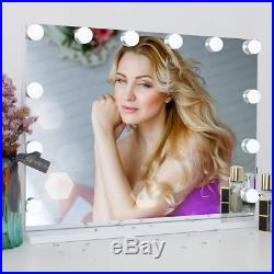 DAYU Cosmetic Hollywood Vanity Mirror with LED Lights for Makeup Dressing Table
