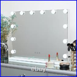 DAYU Vanity Makeup Mirror with LED Lights for Dressing Table, Large Hollywood 12