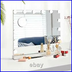 Dripex Vanity Mirror with LED Lights, Large Hollywood Lighted Makeup Mirror with
