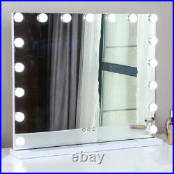 Extra Large 80cm x 60cm Hollywood Style Makeup Mirror With 17 LED Lights