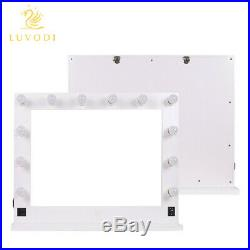 Extra Large Hollywood Makeup Cosmetic Lighted Vanity Mirror for Wall or Tabletop