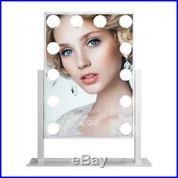 FENCHILIN Hollywood Large Lighted Vanity Mirror Makeup Mirror 12 X 3W Dimmable