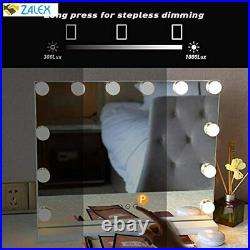 Fenair Makeup Vanity Mirror with Lights USB Outlet for Mobile Phone Hollywood Mi