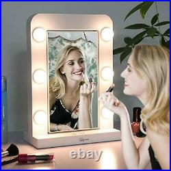 Glynee Hollywood Mirror with Light LED Large Lighted Makeup Mirror Vanity M