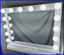 Gorgeous Extra Large Hollywood Makeup Vanity Mirror with LED bulbs and dimmer