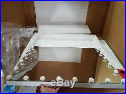 HOLLYWOOD Makeup Vanity Mirror with Lights, Hollywood Lighted Mirror with Dimmab