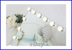 Hansong Large Vanity Makeup Mirror Lights Bluetooth Hollywood Lighted Mirror