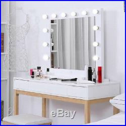Hollywood 32 Lighted Vanity Mirror with13 LED Table Top, Wall Mount BT#