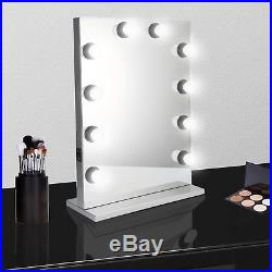 Hollywood Big Makeup Vanity Mirror with Light Dimmer Stage Beauty Mirror Room B2