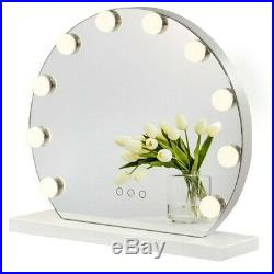 Hollywood LED Lighted Makeup Vanity Mirror Glam Bathroom With Lights Dressing
